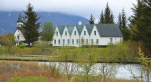 <h5>Thingvellir, l'ancien parlement islandais</h5>
