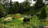 <h5>Jardins dans le parc Petrin</h5>