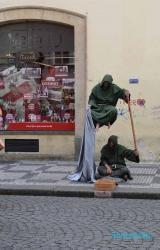 <h5>Prague, folklore de rue</h5>