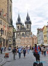 <h5>Prague, place de la vieille ville</h5>