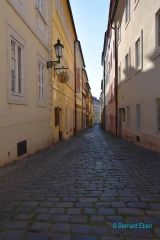 <h5>Prague, ruelle de Hradčany (le quartier du château)</h5>