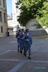 <h5>Prague, relève de la garde au château</h5>