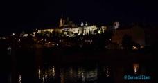 <h5>Prague, le château de nuit</h5>