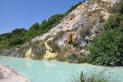 <h5>Bagno Vignoni, Val d'Orcia - Toscane</h5>