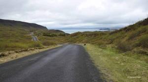 La route 360 près de Thingvellir