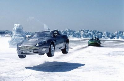 James Bond à Jokulsarlon