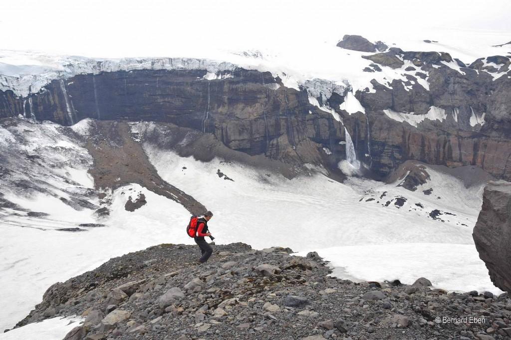 rando glacier islande