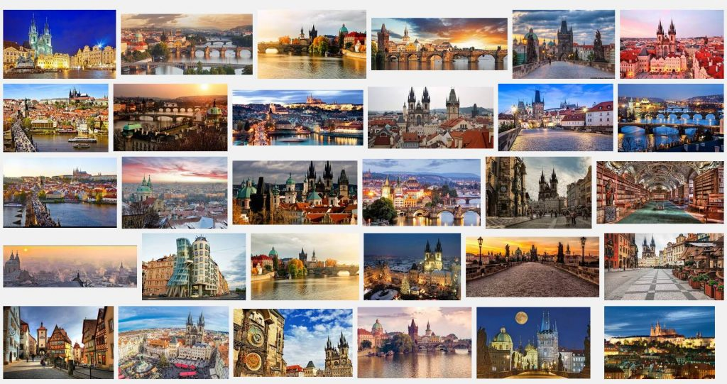 Prague sur Google Image