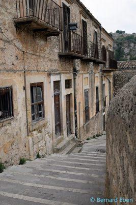 Sicile - Modica - Balcons