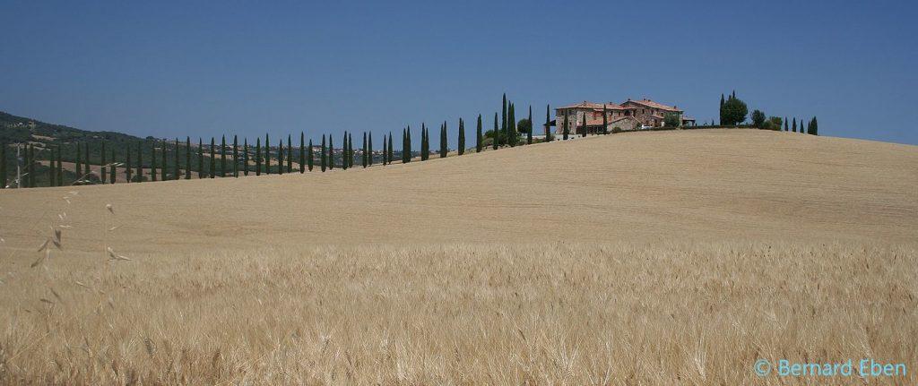 Agriturisme en Toscane, dans le Val d'Orcia