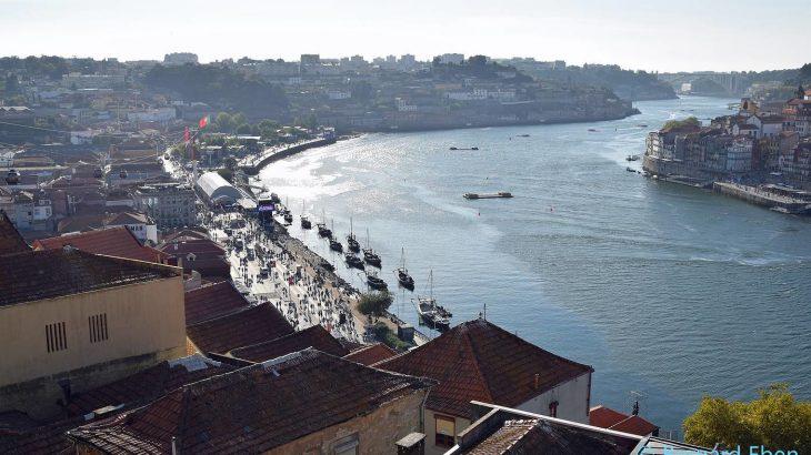 Porto - vue du pont Dom Luis - Bernard Eben