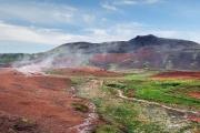 <h5>Geysir, paysage de fumerolles</h5>