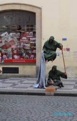 <h5>Prague, folklore de rue</h5>