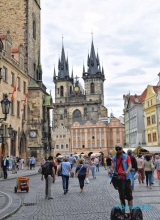 <h5>Prague, place de la vieille ville</h5>
