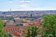 <h5>Prague, le château et ses environs</h5>