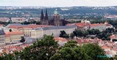 <h5>Le château de Prague</h5>