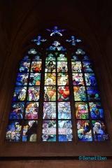 <h5>Prague, intérieur de la Cathédrale Saint-Guy</h5>
