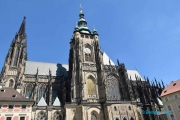 <h5>Prague, la Cathédrale Saint-Guy</h5>