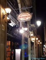 <h5>Barcelone, restaurant Can Culleretes</h5>