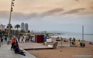 <h5>Barcelone, une des plages</h5>