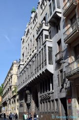 <h5>Barcelone, le Palais Güell de Gaudi</h5>
