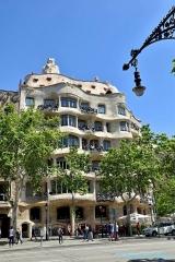 <h5>Barcelone, la Pedrera de Gaudi</h5>