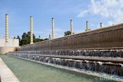 <h5>Barcelone, le parc olympique Montjuic</h5>