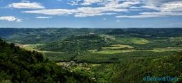 <h5>Croatie - Relief de l'Istrie</h5>