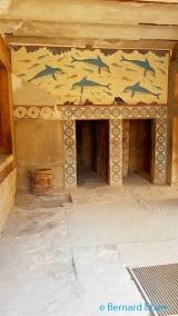 <h5>Crète - le palais de Knossos</h5>