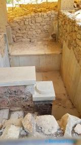 <h5>Crète - les bains royaux du palais de Phaestos</h5>