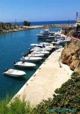 <h5>Le petit port de Sisi (près de Malia)</h5>