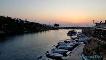 <h5>Le port de la petite ville de Sisi</h5>