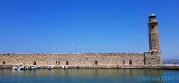<h5>Le port vénitien de Rethimo</h5>
