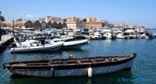 <h5>Le port vénitien de Chania</h5>