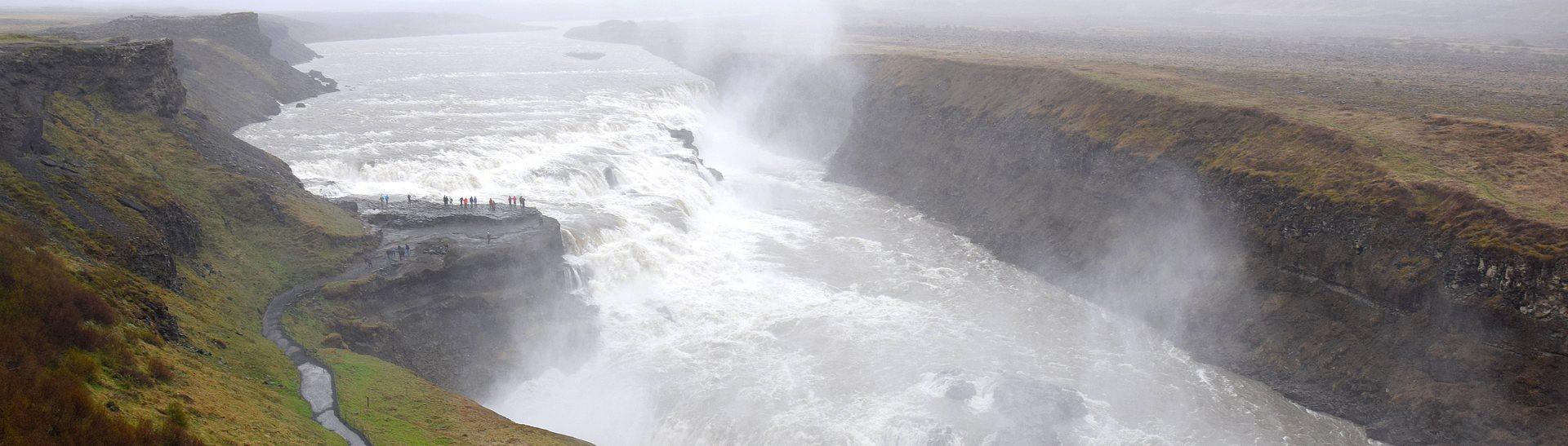Gulfoss Icelande