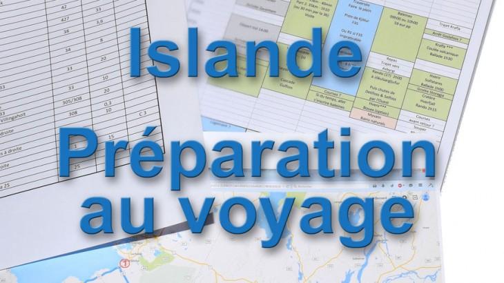 Islande preparation du voyage