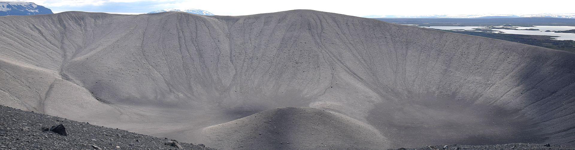 Volcan Hverfjall près de Myvatn
