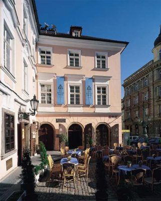 Prague, restaurant Pod Věží