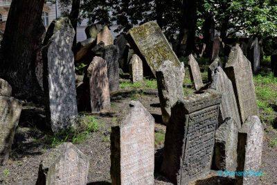 Prague, vieux cimetière juif