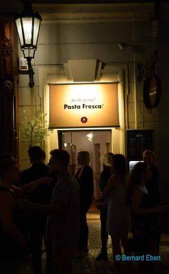Prague, restaurant Pasta Fresca