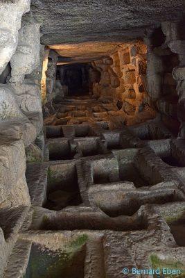 Sicile, site archéologique de Cava Ispica