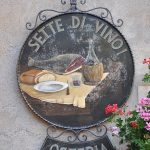 Restaurant Sette di Vino à Pienza dans le Val d'Orcia