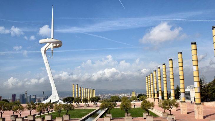 Barcelone - Parc de Montjuic - Bernard Eben