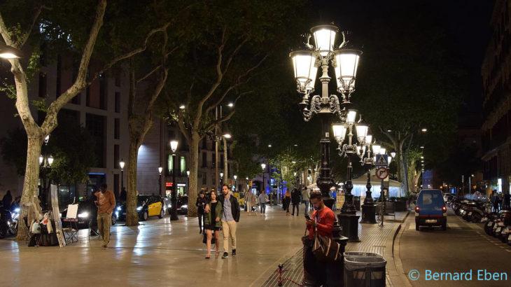 Barcelone - La Rambla - Bernard Eben