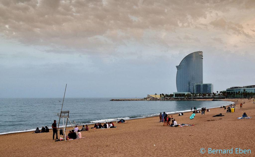 Barcelone - La plaget - Bernard Eben