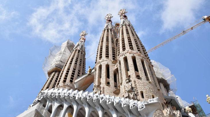 Barcelone - Gaudi - Sagrada Familia