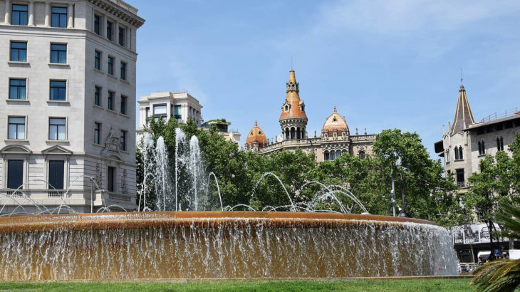 Barcelone - Place Catalunya - Bernard Eben