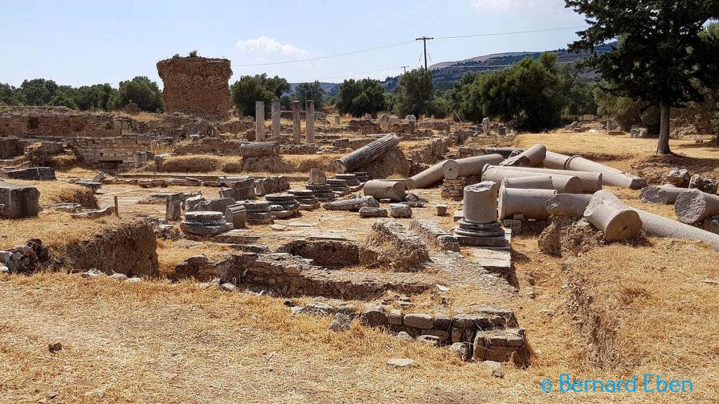 Crète - Ruines de Gortyne