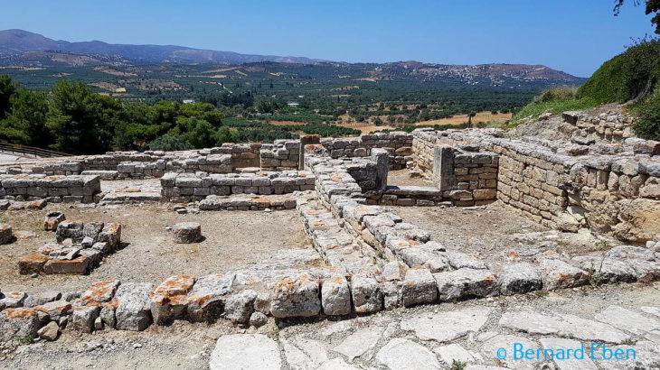 Les vielles pierres en Crète