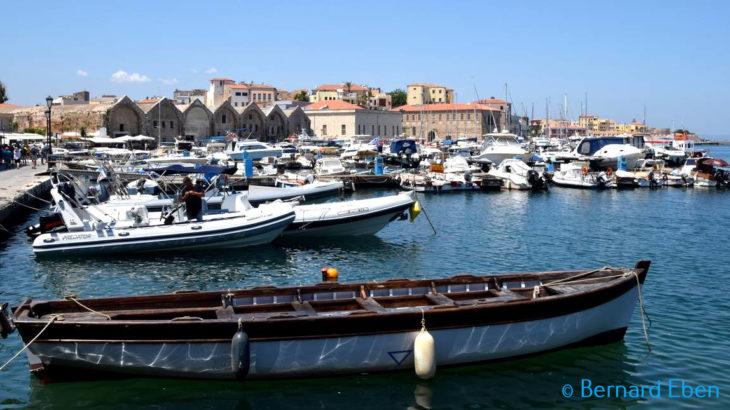 Le port de Chania - Crète - Bernard Eben